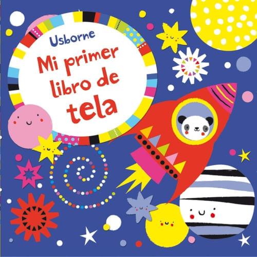 MI PRIMER LIBRO DE TELA (AZUL)