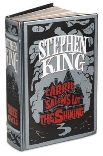 STEPHEN KING THREE NOVELS: CARRIE, THE SHINING, SALEM'SLOT