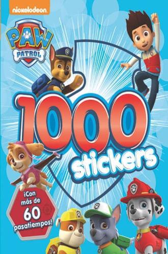 1000 STICKERS PAW PATROL