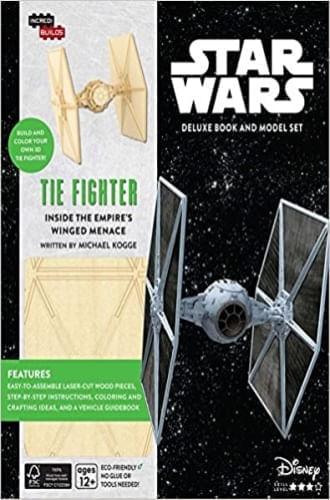INCREDIBUILDS: STAR WARS: TIE FIGHTER DELUXE BOOK AND MODEL