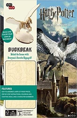 INCREDIBUILDS: HARRY POTTER: BUCKBEAK DELUXE BOOK AND MODEL