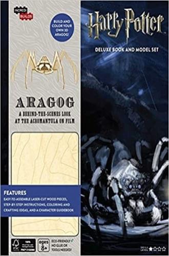 INCREDIBUILDS: HARRY POTTER: ARAGOG DELUXE BOOK AND MODEL