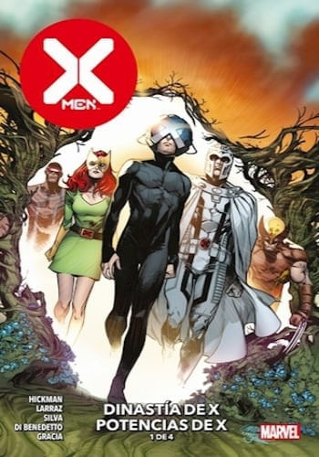 X- MEN N.1  DINASTIA DE X  POTENCIAS DE X