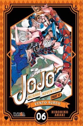JOJO'S BIZARRE ADVENTURE PARTE 5: VENTO AUREO 06