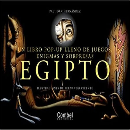 EGIPTO: UN LIBRO POP-UP LLENO DE JUEGOS, ENIGMAS Y SORPRESAS