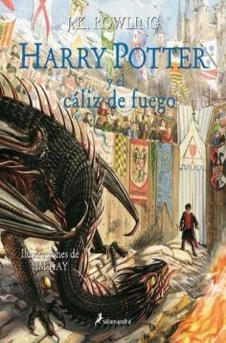 HARRY POTTER Y EL CALIZ DE FUEGO (ILUSTRADO)