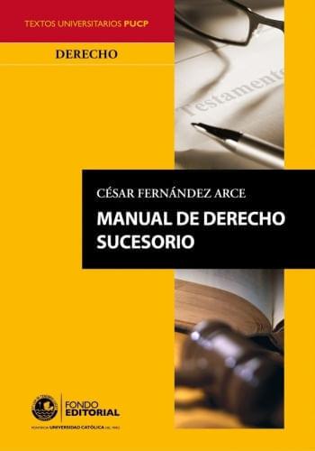 MANUAL DE DERECHO SUCESORIO