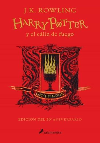 HARRY POTTER Y EL CALIZ DE FUEGO (GRYFFINDOR 20 ANIV.)